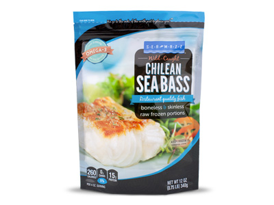 Sea Bass Retail Bag